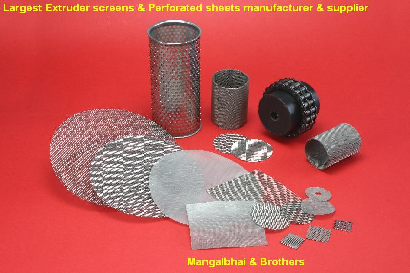 Extruder screens, Wire Mesh, Perforated metal, Filter, Dutch weave wire mesh